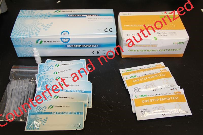 CBP Continues to Seize Large Number of Counterfeit and Unapproved COVID-19 Products